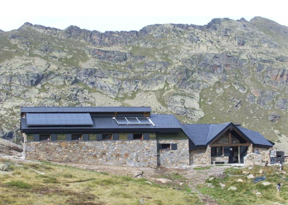 Reforma del Refugi guardat del Juclar, Arquitectura (Principat d'Andorra)
