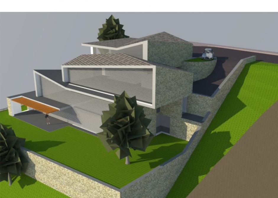 Vivenda Unifamiliar a Can Diumenge, parcel.la núm. 38, Architecture (Principality of Andorra)