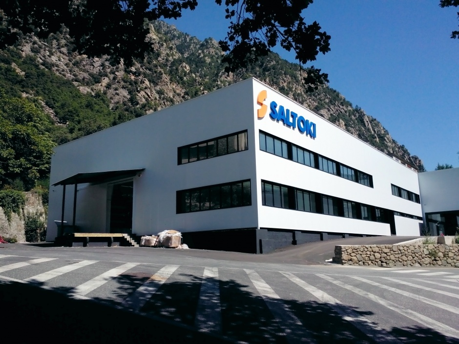Renovation Industrial Ship Saltoki, Architecture (Principality of Andorra)