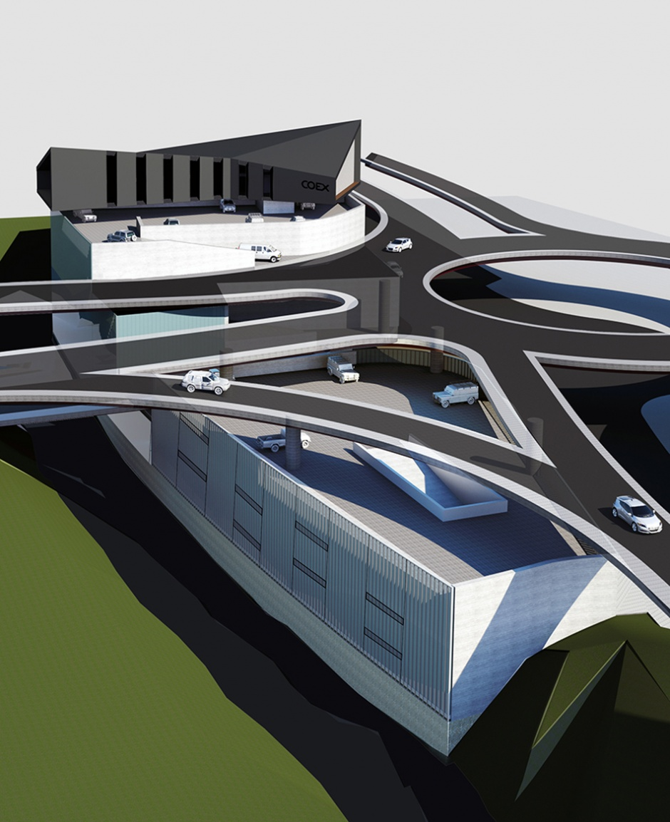 Contest New Base of COEX (Third Prize) , Architecture (Principality of Andorra)