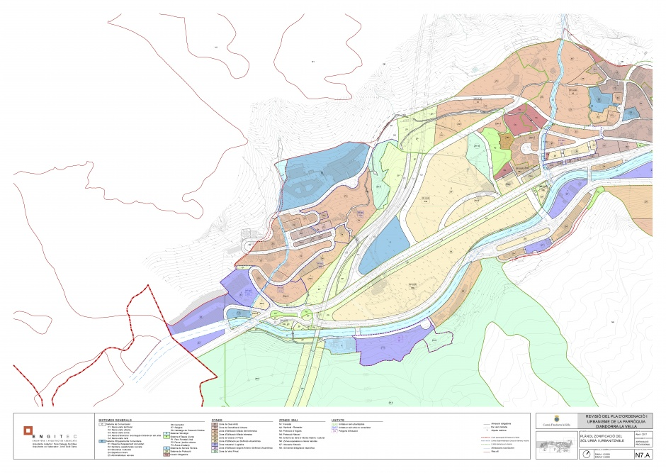 Drafting of the Review of the Parish Urban Planning Plan d'Andorra La Vella, Planning (Principality of Andorra)